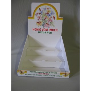 Theken Aufsteller für 9 Gläser Honig