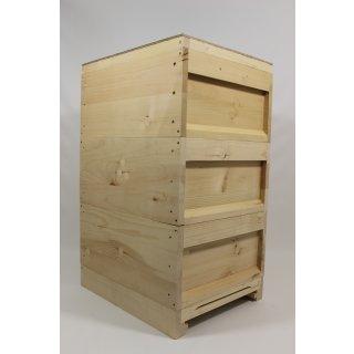 Einfachbeute (Liebig Holzbeute) Zander mit Flachboden
