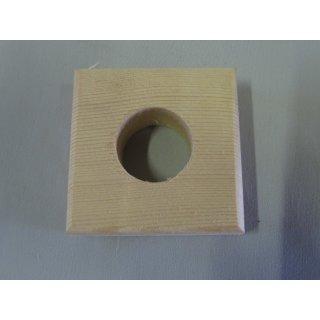 Holzvierkant für 200ml Flasche