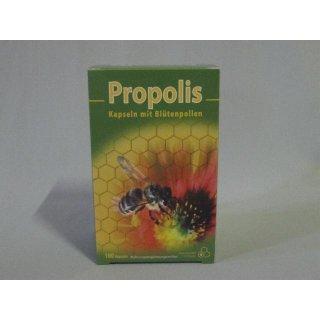 Propolis Kapseln mit Blütenpollen - 100 Stück