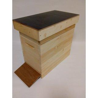 Holz Ablegerbeute 6 Waben Dadant US