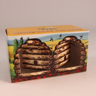 """Geschenkkarton """"Bienenkorb"""" 2x500g"""