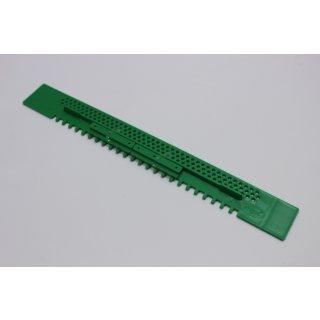Fluglochschieber Plastik grün 450 mm lang