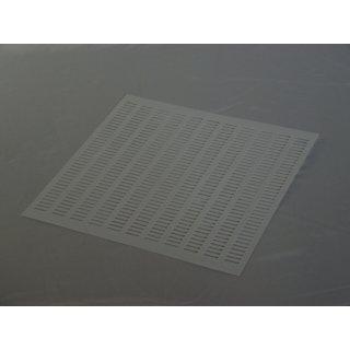 Plastik Stanzgitter 500x500mm weiß