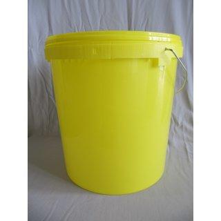 Honig-Eimer 25kg Plastik gelb