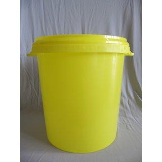 Plastik-Hobbock 40 kg gelb