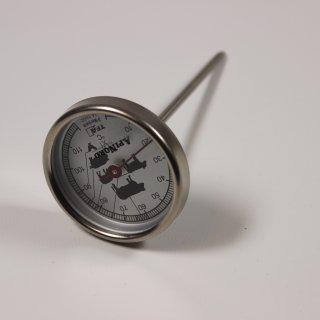 Thermometer mit langem Stiel zum Einsatz im Wärmemeister