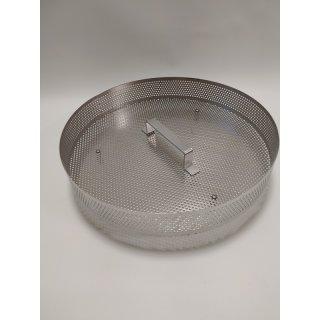 Edelstahleinsatz für Kunststoff-Dampfschmelzer Durchmesser ca 42cm Höhe 6 oder11cm