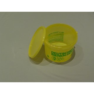 Honig-Eimer 2,5 kg Plastik gelb, grün bedruckt