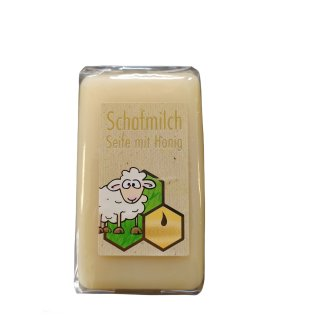 Honig-Schafmilchseife 100g