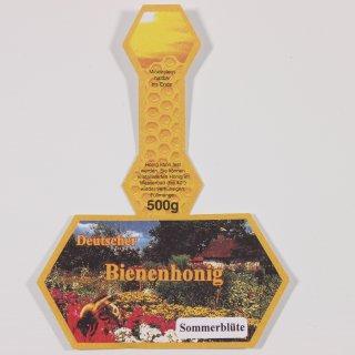 Steg-Etiketten 500g SOMMERBLÜTE 100 Stück