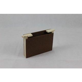 Mini Plus Futtertasche 1-fache Rähmchenbreite aus Holz