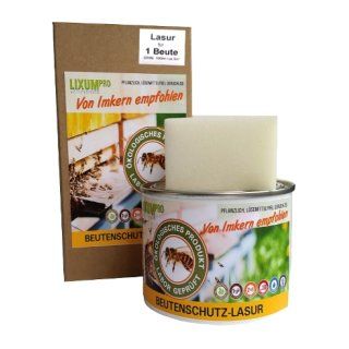 LIXUM PRO Beutenschutz dunkelgrün für 10 Beuten (1000ml) mit Schwamm