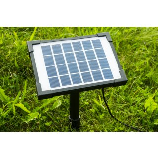 SolarLoad-CR3 Solarpanel mit Erdspieß für ApiGraph