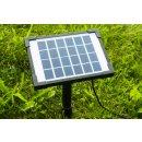SolarLoad-CR3 Solarpanel mit Erdspieß für...