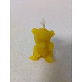Gießform Teddy 4x3, Docht 3