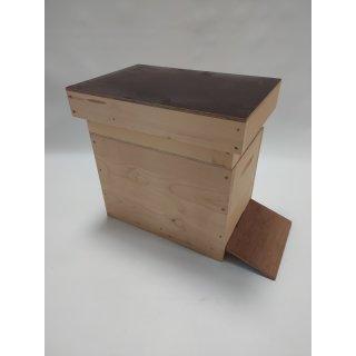 Holz Ablegerbeute 6 Waben DN
