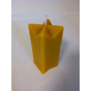 Gießform Zierkerze 4-eckig 11,5x5cm, 250gr, Dochtgr. 10
