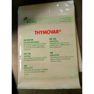 THYMOVAR® 2 x 5 Plättchen