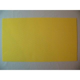 DN - flach Mittelwände 350 x135 mm - eigene Herstellung