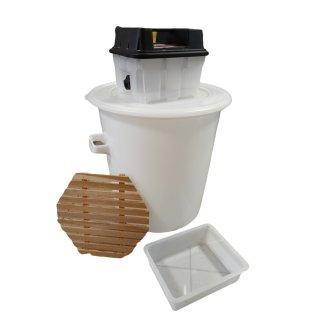 Kunststoff-Dampfwachsschmelzer elektrisch