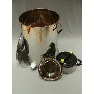 Edelstahl-Dampfwachsschmelzer elektrisch