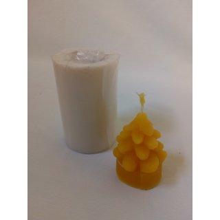 """Gießform """"Teelicht Tannenbäumchen"""", 5x3cm, ca. 28g, Docht 3"""