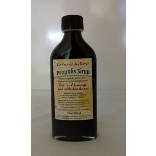 Propolis Sirup 20%, 200ml Flasche
