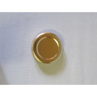 Deckel 48mm TO gold