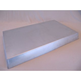 Blechdeckel konisch für Holz-Ablegerkästen 55 x 25,5 cm