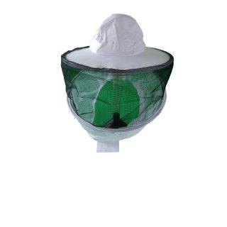 Ersatz-Imkerhaube rund mit Reißverschluss (passend für alle Schutzjacken mit Ventilation)