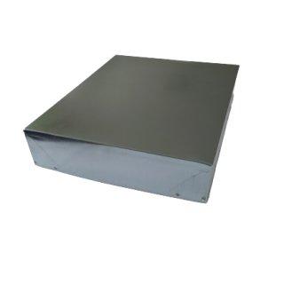 Mag.Imker Blechdeckel für Innendeckel Maße: 52,5 x 43,5cm, verzinkt
