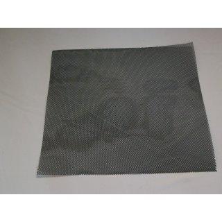 Kunststoffgewebe dunkelgrau 50x50cm