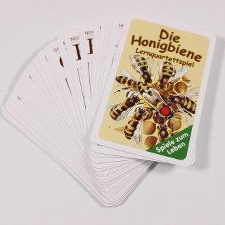 Kartenspiel Lehrquartett Bienen