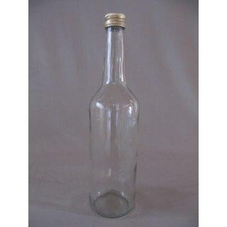 Geradhalsflasche 700ml mit Deckel