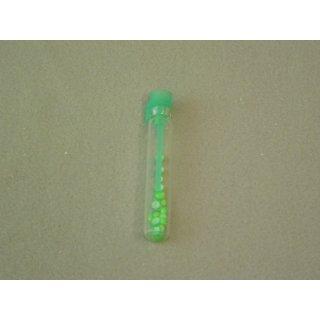 Leucht Opalith Plättchen grün, Fl. mit 60 Stück