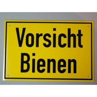 """Warnschild 30/20 cm """"Vorsicht Bienen"""""""