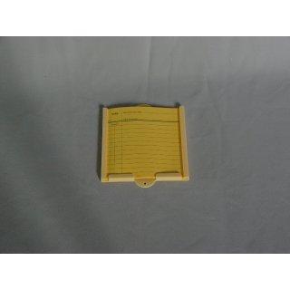 Notizkartenhalter mit 5 Notizkarten