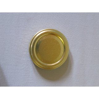 Deckel 53mm TO gold