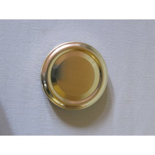 Deckel 58mm TO gold