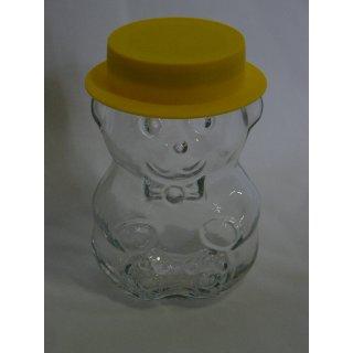 Bärchenglas mit Hut u. Deckel 285 ml (ca 350g Honig)