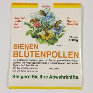 Blütenpollen Etiketten groß (1000g) 10 Stück