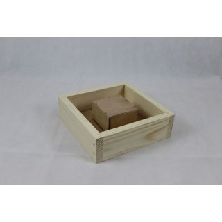 Mini Plus Holzbeute Futterzarge (2,5 Liter)