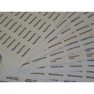 "Etikett ""MHD"" 102 Stück pro Bogen"